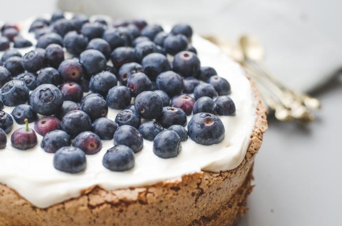 Blueberry Gateau Recipe