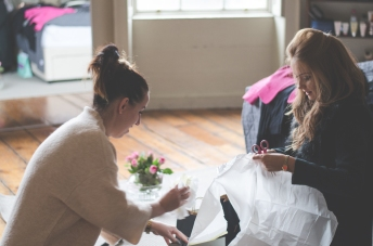 Backstage photography for Photopapilio & Stylesavvy.ie