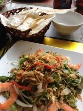 Morning Glory Salad with Shrimps at Morning Glory, Hoi an, Vietnam