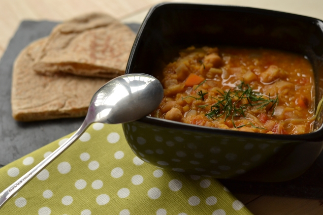 chickpea and lentils soup recipe, delicious lentils soup recipe, Galway Food Blog