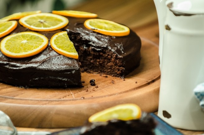 Chocolate orange cake recipe from Galway Food Blogger.