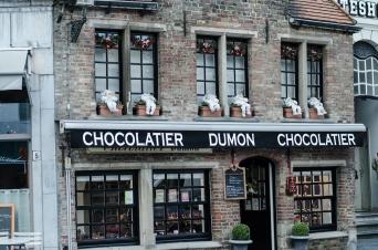 Bruges, Chocolatier
