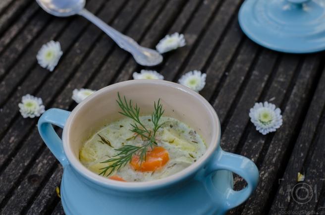 polish dill pickle soup
