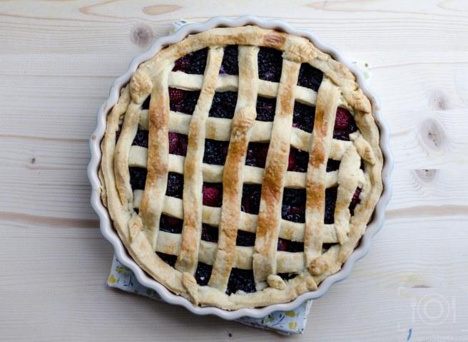 crust pie berries recipe