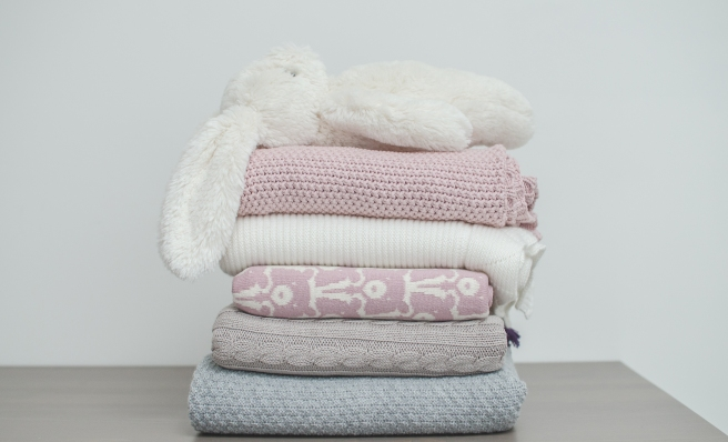 Effi, La Millou & Jollein baby blankets