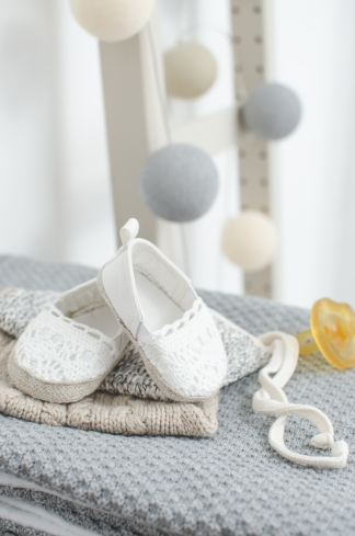 Zara shoes & Petite Soul baby bonnet